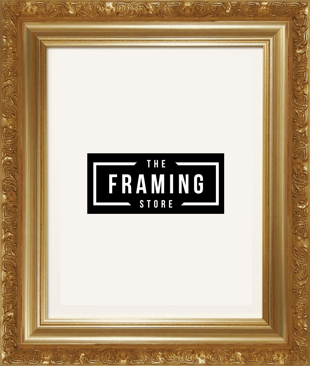 Australian made 8x10 Gold coloured fancy frame (203mm x 254mm)